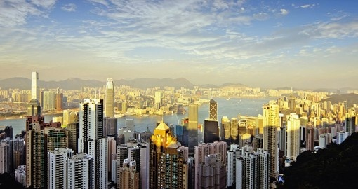 Walk along the streets of one of the worlds modern metropolises on your Hong Kong Vacation