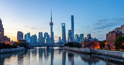 Experience Modern Shanghai on your China tour
