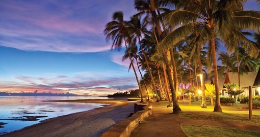 The Coral Coast of Fiji is a popular destination for all Fiji vacations.