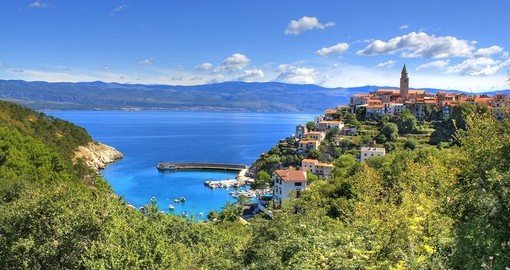 enjoy the history and scenery in Krk on your trip to Croatia