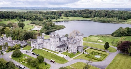 Dromoland castle  is one of the most famous baronial castles in Ireland