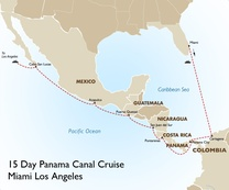 Panama Canal Cruise: Miami to Los Angeles