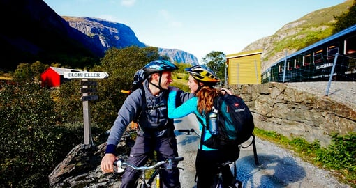 Experience biking from Flam during your Norway vacations