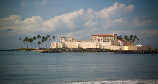 Elmina Castle was built as a trading post and is the oldest European building in sub-Sahara Africa