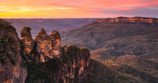 The Blue Mountains National Park - Credit MJK Creative