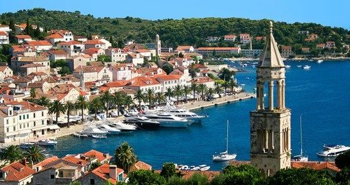 Tour the town of Hvar on your trip to Croatia
