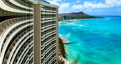 Ocean Resort View of the Sheraton Waikiki Hotel