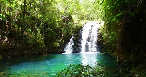 Find hidden falls and lakes on your Belize Vacation