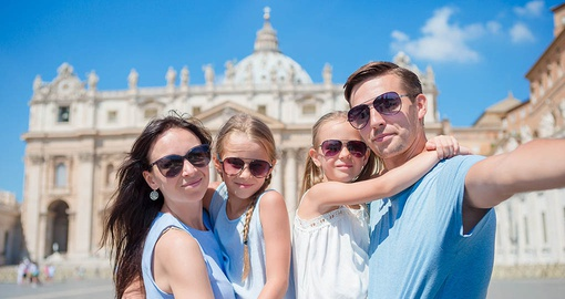 Take your family to the Vatican on your Rome tour