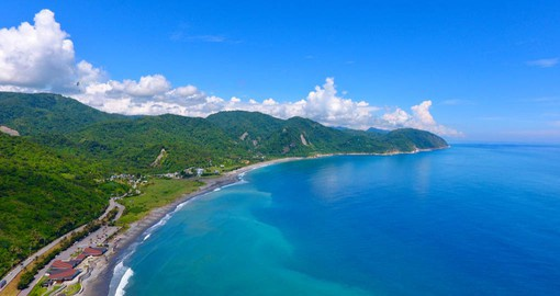 "The Hawaii-like coastal of Hualien is know as the ""secret garden"""