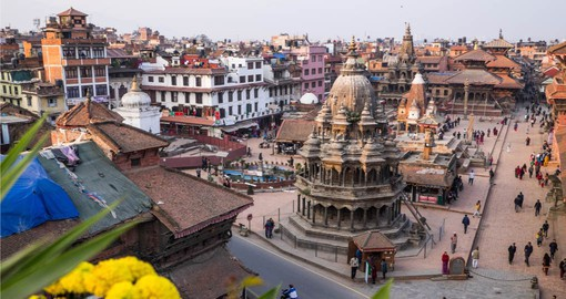 Kathmandu's Durbar Square was where the city's kings were once crowned