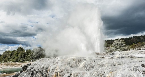Experience New Zealand's geothermal wonderland on your New Zealand Vacation