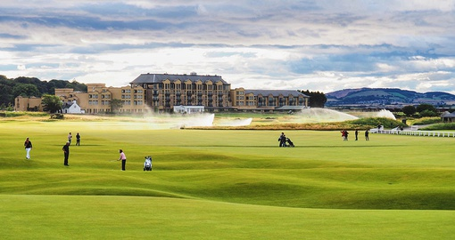 Visit the birthplace of golf on your trip to Scotland