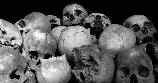 The Killing Fields of Choeung Ek - Phnom Penh