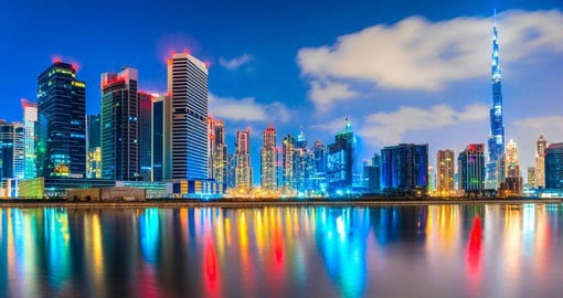 Once a small fishing village, Dubai is now considered one of the world's most cosmopolitan cities.