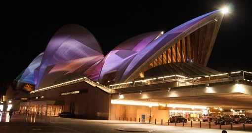 The Sydney Opera House is the perfect place to enjoy a show on your Australia Vacation.