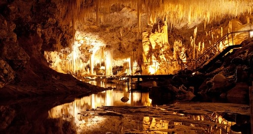 Lake Cave in Margaret River is a very popular place to see during your next Australia vacations.