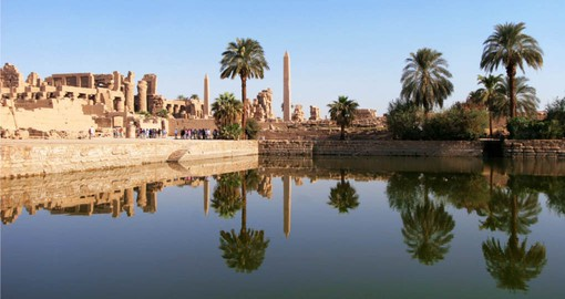 Described as an open air museum, The Great Temple of Karnak complex in Luxor is a highlight of your Egypt vacation