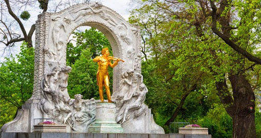 "Johann Strauss II, known as ""The Waltz King"" lived in Vienna for many years"