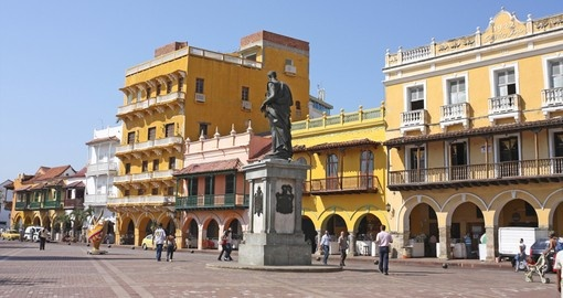 Main Square Old Town, Cartagena