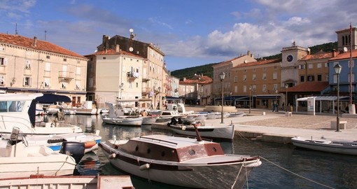 Tour Cres Island Harbour on your Croatia Cruise