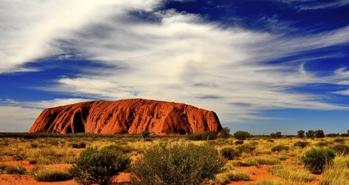 Ayers Rock, also know as Uluru, is a great extension for all trips to Australia
