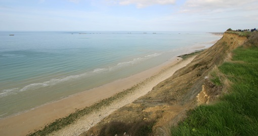 Gold Beach D-Day landing site