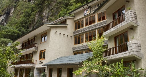 The Sumaq Hotel is located on the hillside with will give you amazing views included in your Peru Vacation Packages.