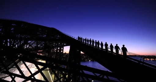 Climbing the Sydney Bridge