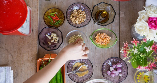 Try cooking authentic Thai food