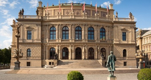 The Rudolfinum is home to the Czech Philharmonic Orchestra
