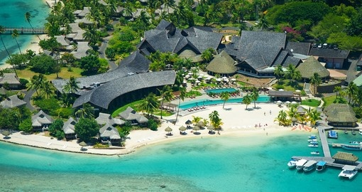 Enjoy this breathtaking InterContinental Moorea Resort on your next Moorea vacations.