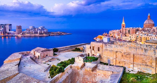Valletta, The Fortress City, is Malta's capital