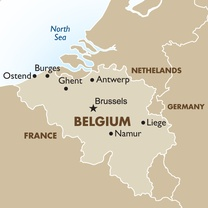 Belgium Map brand new