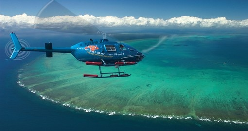 Experience breathtaking view from birds eye during your next New Zealand vacations.