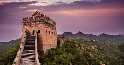 Walk on the Great Wall of China on your China Tour