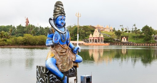 Statue of Shiva in Grand Basin