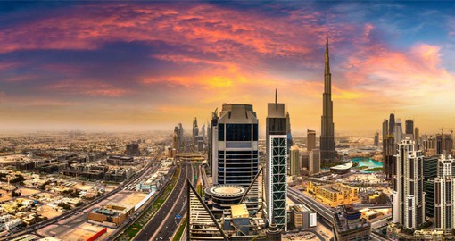 Established as a fishing village in the early 18th century, Dubai is today a global city and business hub
