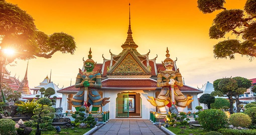 Guardians of Wat Arun Temple, Bangkok