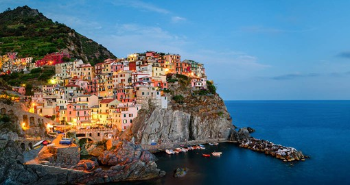 On a six-mile stretch of the Italian Riviera, lie the Cinque Terre, an iconic highlight of Italy