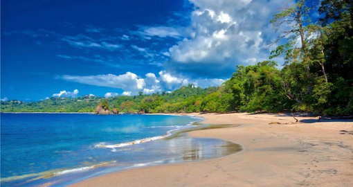 The pristine beaches of Manuel Antonio National Park are the perfect place to end your Costa Rica vacation