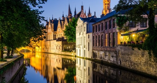 Check out beautiful Bruges on your trip to Belgium