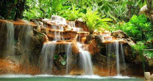 There are a wealth of hot springs in the area surrounding the Arenal Volcano