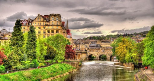 Bath's stunning honey-coloured Georgian architecture is straight from a Jane Austen novel