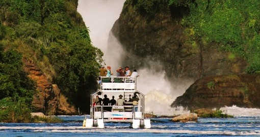 Your Safari in Uganda includes a cruise on the Victoria Nile
