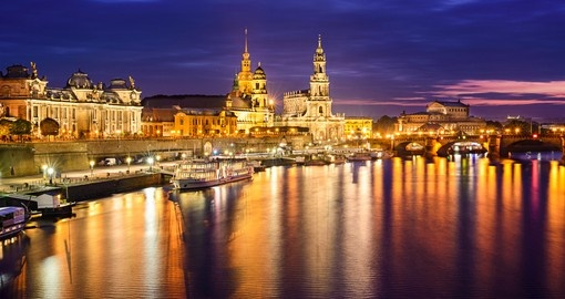Enjoy Dresden's renown nightlife on your trip to Germany
