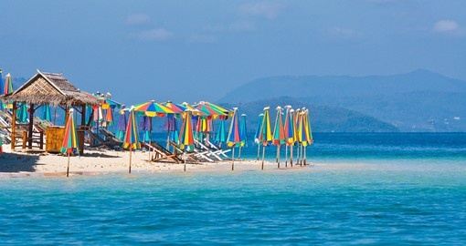 Bask in the sun and breathe in fresh coastal air on Kai Island on one of your future Trips to Thailand