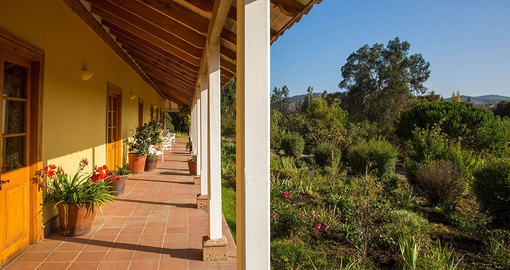 Enjoy the view from your door at La Casona
