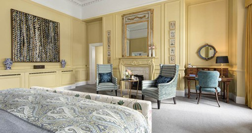 Be pampered with luxury at The Balmoral on your Scotland vacation package