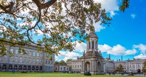 Founded in 1592 by Queen Elizabeth I, Trinity College Dublin was modeled after the universities of Oxford and Cambridge